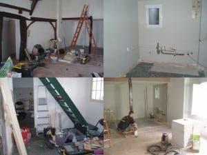 Photo immeuble beaufort pendant travaux