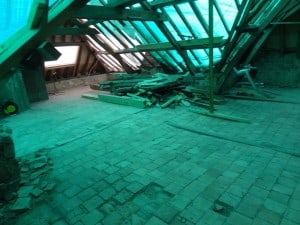 Photos de sol projet immeuble locatif