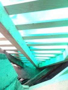 Photo de charpente projet immeuble locatif