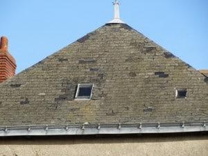 Ancienne toiture projet immeuble locatif