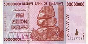 Zimbabwe hyperinflation