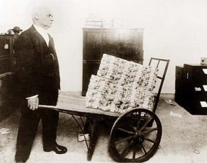 hyperinflation Weimar Allemagne
