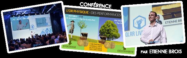 Conférence investir dans l'or - Etienne BROIS