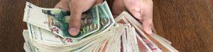 Il tombe sur un magot de 72 900 Frs en cash…