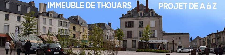 Projet d'immeuble à Thouars – Les travaux